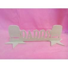 MDF Daddy camper van plaque